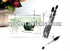 The acrylic penholder with photo grame