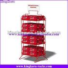 KingKara KADRS089 Wire Display Shelf for Soda