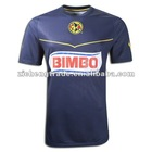 Club De America Away Custom Design Soccer Jersey 11/12 For Wholesale