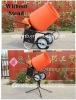 Electric Used Portable Concrete Mixer with 3.5 cu. ft. Plastic Drum
