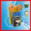 2012 popular soybean milk /milk tea /bubble tea cup sealing machine