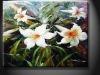 YXHHG1229 Fashion Canvas Flower Oil Painting
