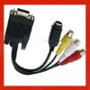 New generic rca male vga female cables