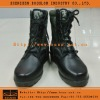 Army Black Leather Combat Boots