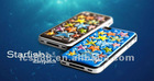 new hot 3D reliefs Series starfish cover protctive case for iphone 4/4s