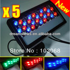 New High Quality&Lowest Price,US/EU Plug,5pcs/lot,DMX512,36W,110-240V,RGB LED Wall Washer Lamp DJ Lighting Stage Light