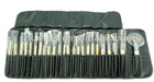 24pcs high qualtiy large make up brush set