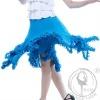 Professional fashion ballroom dance skirt