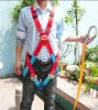 CE approved Flame retardant climbing full body safety harness---accesories buffer safety hook