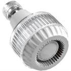 Showerhead - 1.5/1.75/2.0 GPM - White/Clear Acrylic