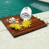 teak shower mat duckboard