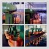 Metal casting machine for copper machining