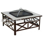 2011 Outdoor Fire Pit Table W/Tiles