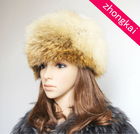 Ladies' fashion long-hair fox fur hat(Russian style)