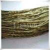 fashion decorative double colour metallic rayon non-elastic cord