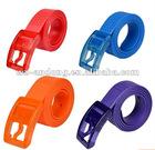 fashion colorful silicone belt