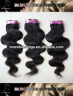 cheap price 18 inch clip in human hair extensions