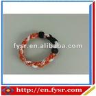 Energy Braided Titanium sports bracelet