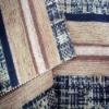 Plain flocking upholstery fabric
