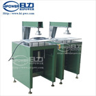 PVC cylinder lid/bottom flying cutter machine for plastic cylinder