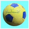 NO.5 grain/smooth/golf surface rubber soccer,game football
