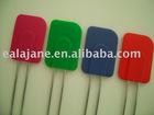 Silicone Spatula w/wire handle w/chrome plated