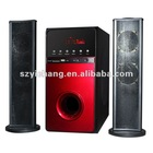 "New Arrival HiFi 2.1 Home Theater Speaker with 8"" Subwoofer USB SD FM LED Display"