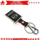 Top mazdar car key holder,useful key chain,alloy and PU leather,stainless protection,it is used for car key remotes