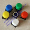 Tactile Tact switch Square SWT 12x12 -7.3H+ Colour Cap