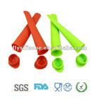 Convenient ice cream holder&moulds for children, 100%food grade silicone
