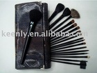 professional 18pcs makeup brush set- fine goat and sable hair