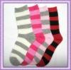 stripe girl socks