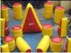 inflatable paintball bunker types K8036