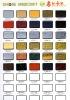 colorful photo frame matboard / UN-CUT