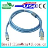transparent color high speed am to mini5p usb 2.0 cable