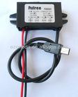 DC 12V/DC 24V Step down to 5V 3A 15W Car Voltage PSU Converter Regulator Module for GPS, LED, MP3,Mobile