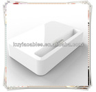 White charging dock for Iphone 5