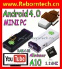 Android TV Box Smart Google Android 4.0 Allwinner A10 512MB 4GB HDMI TVB-01
