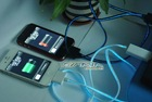 Factory*EL Visible light USB Data Cable for ipod/iphone/ipad