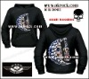 skull hoodies skull hoody metal hoodies punk hoodies