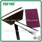 cloth bound notebook/Hardcover notebook of A4-A7 with PU cover or cloth cver