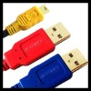 Microdisk USB2.0 Y Cable- 2 A Male to Mini-B 5Pin Male