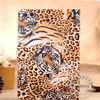 Luxury Design Leather Leopard Case for Ipad mini