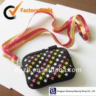 Neoprene Camera Bag, phone case neck straps