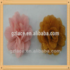 Fashionable!!!Italian chiffon flower lace fabric HD73 Hair flower