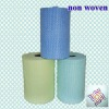 soft comfortable colorful absorbent spunlace nonwoven fabric roll for wipe