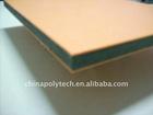 Plastic construction mould board