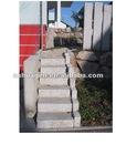 grey granite step stone