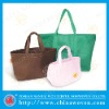 Embroidery needle punch nonwoven bag, gift bag, shopping bag