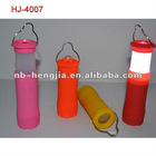 HJ-4007 rubber ABS camp torch light with 1W pcs LED zoom adjustable
